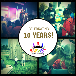 Thanks for giving kids in foster care a caring camp experience for 10 years!